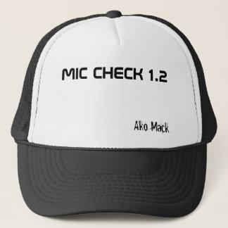 MIC CHECK 1.2, Ako Mack Trucker Hat