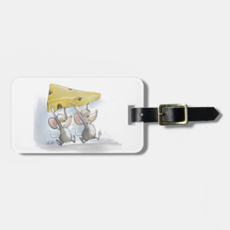 Mic & Mac Bringing In The Cheese Luggage Tag