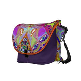 """Micaela"" Rickshaw Messenger bag by MAR"
