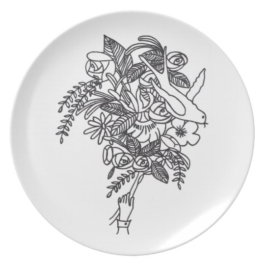 Micah 2015 Melamine Plate
