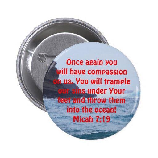 Micah 7:19_Ocean Pin