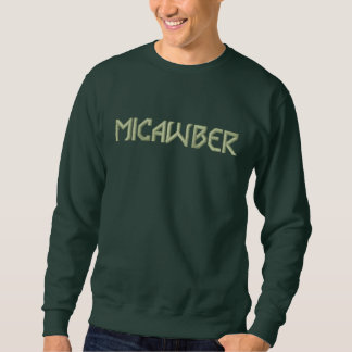 MICAWBER Semi Hectic Embroidered Sweatshirt