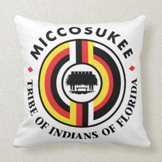 Miccosukee Tribe Throw Pillow