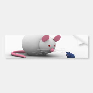Mice And Cat Game Bumper Sticker