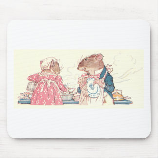 Mice Doing Dishes Mouse Pad