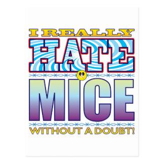 Mice Hate Face Postcard