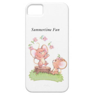 Mice having a little summer fun case for the iPhone 5