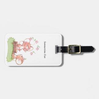 Mice having a little summer fun luggage tag