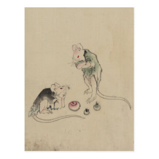 Mice in Council Post Cards