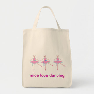 mice love dancing, Tote Bag