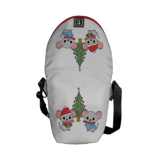 mice of Christmas Commuter Bag