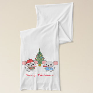 mice of Christmas Scarf