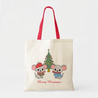 mice of Christmas Tote Bag