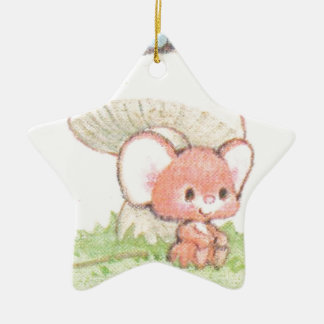 Mice Summertime Daydreaming Ceramic Star Decoration