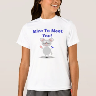 Mice To Meet You T-shirt For Kid's