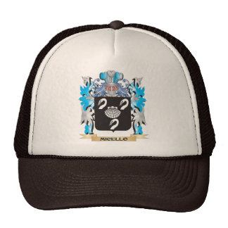 Micello Coat of Arms - Family Crest Trucker Hats