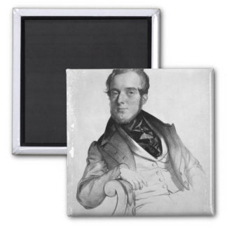 Michael Balfe, engraved by the artist Square Magnet