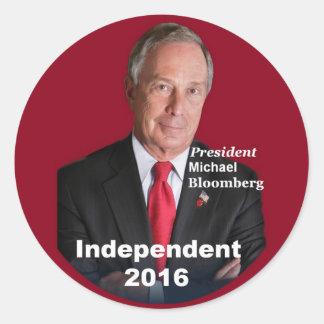 Michael BLOOMBERG 2016 Sticker