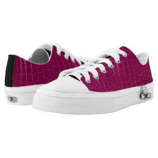 Michael DeVince  Low Top Shoes Fuchsia-Blk Crocs