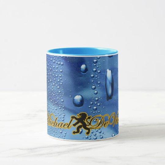 Michael deVinci 11 oz Ringer Mug