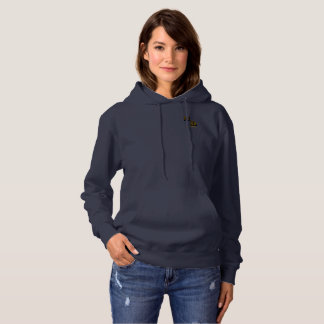 Michael DeVinci Women's Basic Hooded Sweatshirt