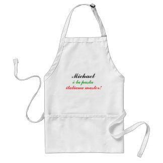 Michael, è la pasta, italiana master! standard apron