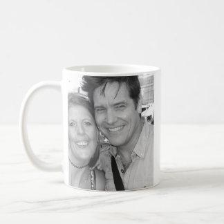 Michael & Me Basic White Mug