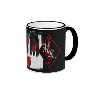 Michael Rose Logo Mug w/ Piano Keys