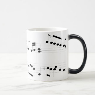Michael Rose Music Score Morphing Mug