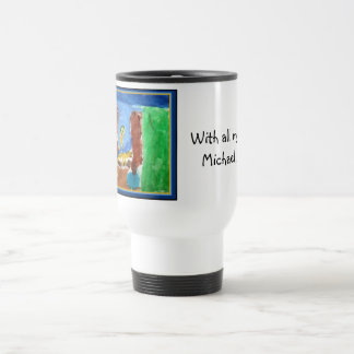 michael shara travel mug
