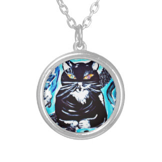 Michael Silver Plated Necklace