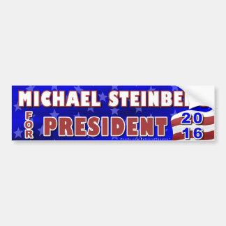 Michael Steinberg President 2016 Election Democrat Car Bumper Sticker