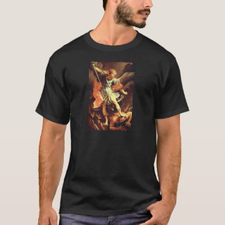 Michael the Archangel Christian Fine Art T-Shirt
