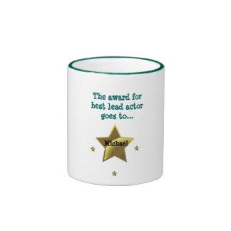 MICHAEL: The Award For Best Lead Actor Ringer Mug