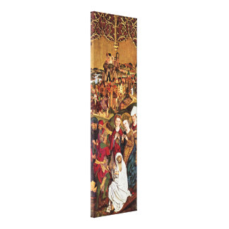Michael Wolgemut - Finding of the Cross Stretched Canvas Prints