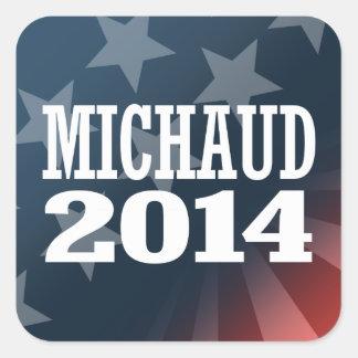 MICHAUD 2014 SQUARE STICKER