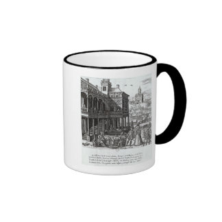 Michel de Nostradame  being consulted Coffee Mugs