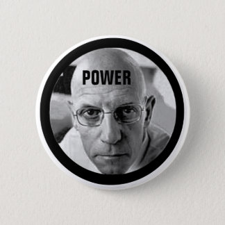Michel Foucault 6 Cm Round Badge