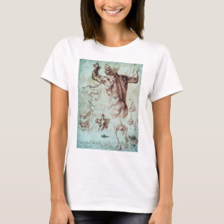 Michelangelo Buonarroti Studies for Libyan Sibyl T-Shirt