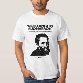Michelangelo Buonarroti white T-shirt