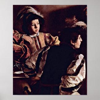 Michelangelo Caravaggio - Calling of StMatthew Poster