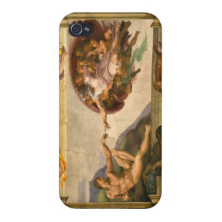 Michelangelo Creation of Adam iPhone 4 Covers