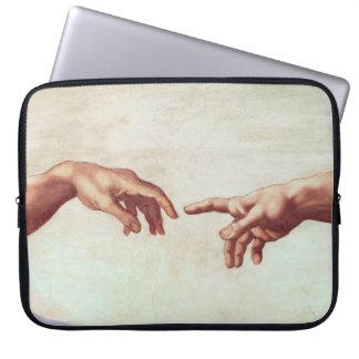 Michelangelo Hands Laptop Sleeve