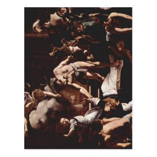 Michelangelo Merisi da Caravaggio Gem?lde der Cont Postcard