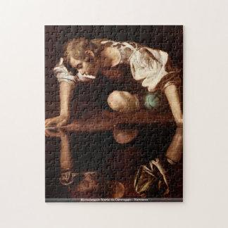 Michelangelo Merisi da Caravaggio - Narcissus Jigsaw Puzzle