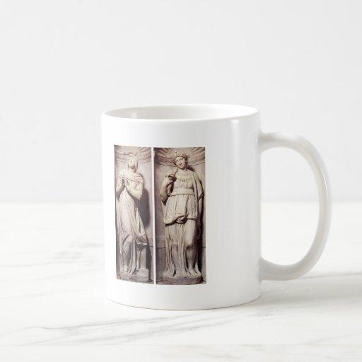 Michelangelo- Rachel and Leah Coffee Mugs