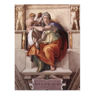 Michelangelo Renaissance Art Postcard