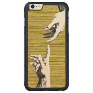 Michelangelo renaissance carved® maple iPhone 6 plus bumper case