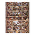 Michelangelo: Sistine Chapel Ceiling Post Cards