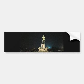 Michelangelo Square Bumper Sticker